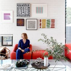 www.littlerugshop.com Todays colourful creative family home in Fremantle WA belongs to architects Emma Williamson (pictured) and Kieran Wong of @coda_studio. Thanks to our WA team stylist @annapearlflanders and photographer @angelitabonetti for keeping the coolest WA homes on our radar! Link in profile  by thedesignfiles