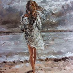 OIL ON CANVAS 70x50cm olny one, original painting - palette knife - with Certificate of Authenticity