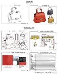 Image result for spec sheet for handbag