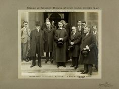 Tomáš Garrigue Masaryk (centre), who gave the inaugural lecture that launched the School in 1915, returns in 1925 as President of Czechoslovakia…