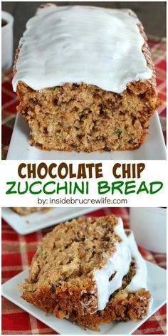 Zucchini, coconut, and chocolate chips make this summer bread an amazing breakfast to enjoy!