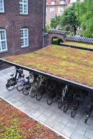 grøn tag cykelskur - Google-søgning