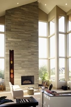 Creekside Residence - contemporary - living room - portland - by SRM Architecture and Interiors