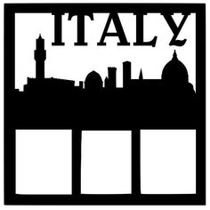 Italy Scrapbook Overlay Wedding Scrapbook, Disney Scrapbook, Travel Scrapbook, Scrapbook Paper, Paper Lace, Wedding Book, Scrapbooking Layouts, Family History, Photo Book
