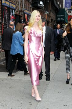 Elle Fanning's Princess Style Diaries - Elle Fanning in Vivienne Westwood