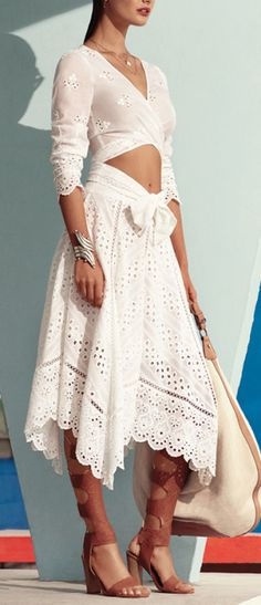 Eyelet Lace Two-Piece