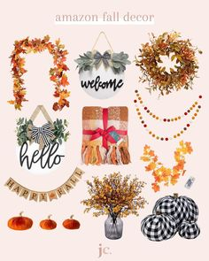 It's officially fall and we are ready for the cute and cozy fall decor over here! Click to shop these products. #falldecor #cozyfalldecor #falldecorfinds #budgetfriendlyfalldecor #bestfalldecor #fall #fallseason