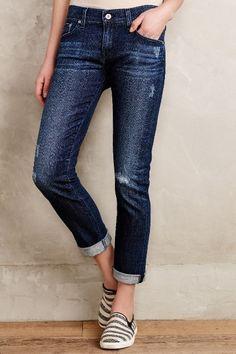 AG Nolan Relaxed Slim Jeans - #anthroregistry