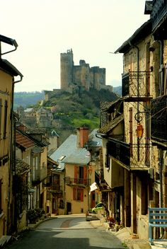 bluepueblo:    Castle Village, Najac, France  photo via sig