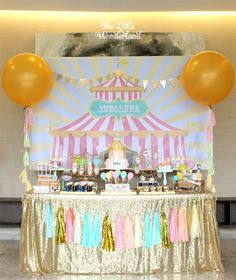 Pastel Carnival Birthday Party via Kara's Party Ideas | KarasPartyIdeas.com (25)