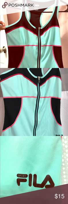 Work out  clothing 🔥🔥🔥 mint fila work out shirt🔥🔥🔥 Fila Other