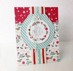 Noel Card by Danielle Flanders for Papertrey Ink (September 2014)