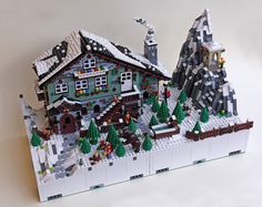 The two modules of Winter Village Chalet