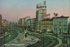 | Postais da velha Lisboa.1º - Barcos tradicionais - 19502º - Praça Duque de Saldanha e Avenida da Republica - 1970Imagens retiradas de: lisboa-postais.blogspot.pt