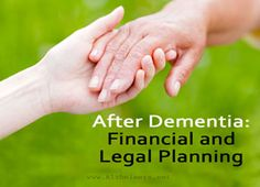 Establishing solid financial and legal plans with your loved ones is essential after an Alzheimer's diagnosis. Learn more about how to plan during this time.