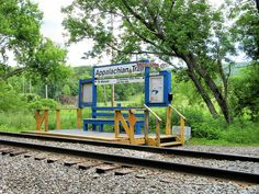 For those who like to hike the Appalachian Trail, my NY train line has a stop where you can get off the train and be on the AT within 4 minutes!