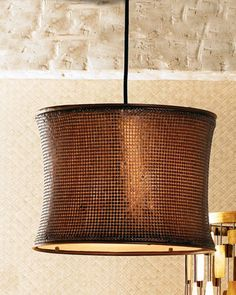Copper Mosaic Chandelier at Horchow.
