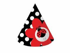 Creative Converting Ladybug Fancy Birthday Party Hats, 8-Count by Creative Converting. $4.38. Ladybug themed party hats. A party just wouldn't be the same without them. See Creative Converting's coordinating line of party goods and dinnerware. Perfect supplies for a child's birthday party, a baby shower or just to have for the occasional play date or picnic. 8 Count with elastic chin strap. From the Manufacturer                Ladybug, ladybug...Feminine and fun, whimsical ladyb...