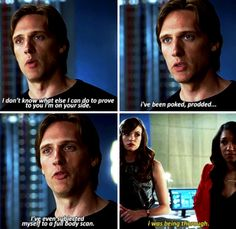 """""""I was being thorough"""" - Jay, Caitlin and Iris #TheFlash"""