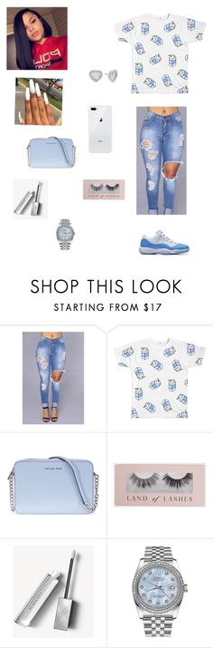 """""""The love I got for you is true"""" by purple2haze ❤ liked on Polyvore featuring Michael Kors, Burberry and Rolex"""