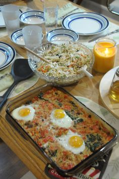 Egg and couscous casserole with Asian slaw salad – Tana Herr – – stan goodwin 202 – macedonian food Albanian Cuisine, Albanian Recipes, Albanian Food, Vegetarian Recipes Easy, Cooking Recipes, Healthy Recipes, Kitchen Recipes, Healthy Food, Asian Slaw Salad