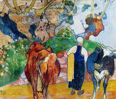 By Paul Gauguin (1848–1903)