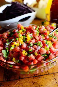 ... Sauce and Pico de Gallo | Recipe | Chipotle Sauce, Fish Tacos and