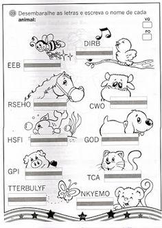 Compartilhando aulas: ♥ Animals
