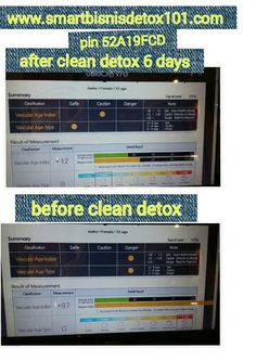 Miracle clean detox in 6 days