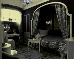 bedroom gothic room bedrooms purple lolita master fantasy decor rooms goth bed interior dark princess modern pink dream designs furniture