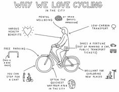 A cyclist's guide to biking the city – a cartoon