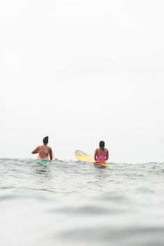 Waiting for the swell