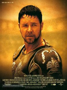 movie poster image for Gladiator (2000) Gladiator Cast, Gladiator Maximus, Gladiator 2000, Gladiator Movie, It Movie Cast, Love Movie, Film Movie, Les Miserables, Russell Crowe Gladiator
