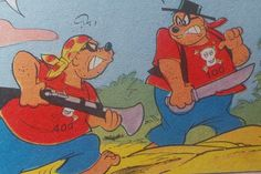 Some Beagle Boys as pirates.
