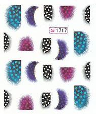 148 Nailart Nagelsticker 20 Aufkleber für Nägel Gefieder Plumage Vogel