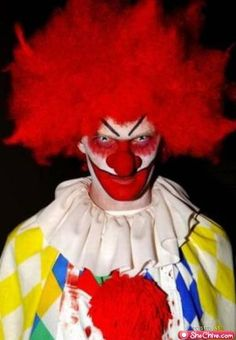 Clowns are scary!