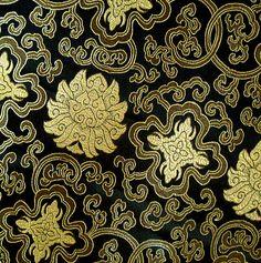 * 130 x 90 CM ! Magnificent brocade fabric woven f de silk wondeful por DaWanda.com