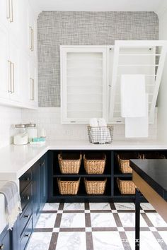 Seriously dreamy laundry room design I mosókonyha