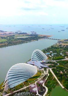 Bay views in Singapore
