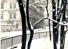 Opravdová zima v Olomouci v 70. letech