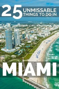 travel tip florida unmissable things to do in Miami, from South Beach to the Everglades weve got all the neighbourhoods and top attractions to visit. miami travel tips for south florida beach vacation Florida Vacation, Florida Travel, Florida Beaches, Travel Usa, Vacation Pics, Vacation Style, Hawaii Travel, South Beach Miami, South Florida