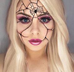 Make it look loke a spiders web!!!