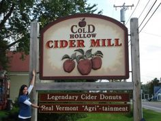 Cold Hollow Cider - Mike Dunphy's Writings from the Tower.  She's right, it is a must see!
