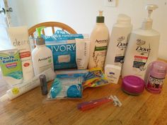 This is a sample collection of various salicylate  free products to use while on the Guai Protocol.