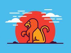 Lion by Nick Kumbari