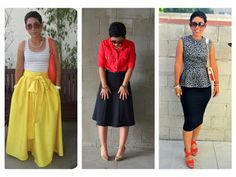 A DIY Year In Review! What I Made In 2012 (Pic Heavy) Love the Yellow skirt with the floppy bow!