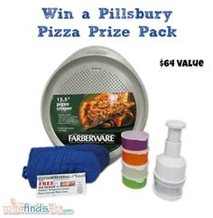 Win a $64 Pillsbury Pizza Pack from MiscFinds4u