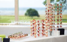 Amuse-bouche displays - present food and drinks with memorable flair  http://www.duni.com/amuse-bouche
