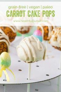 Carrot Cake Pops & Hazelnut Truffles Recipes