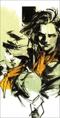 Aperçu des artworks inédits de Yoji Shinkawa issus du roman de MGS Peace Walker